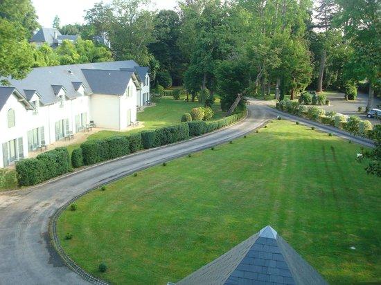 Hotel Villa Navarre : Vue de la chambre