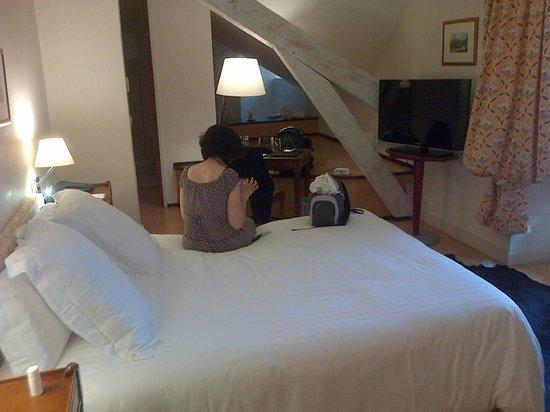 Hotel Villa Navarre: Notre chambre