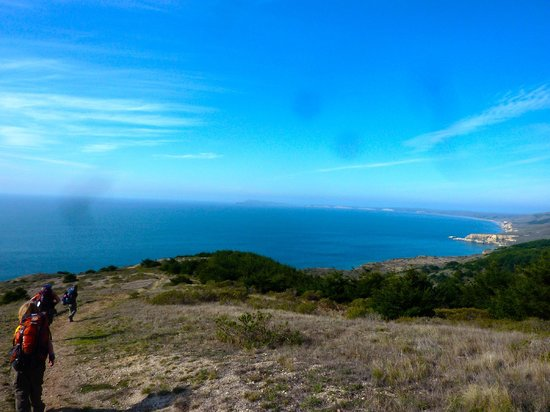 Point Reyes Hiking Trails: View from the Coast Trail