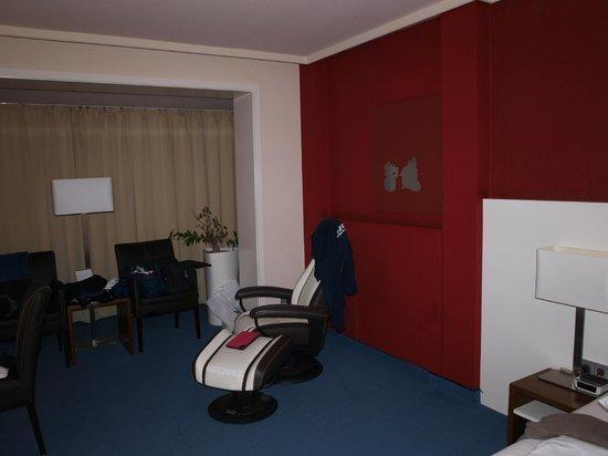BEST WESTERN Hotel Alte Muehle: Zimmer mit Sessel