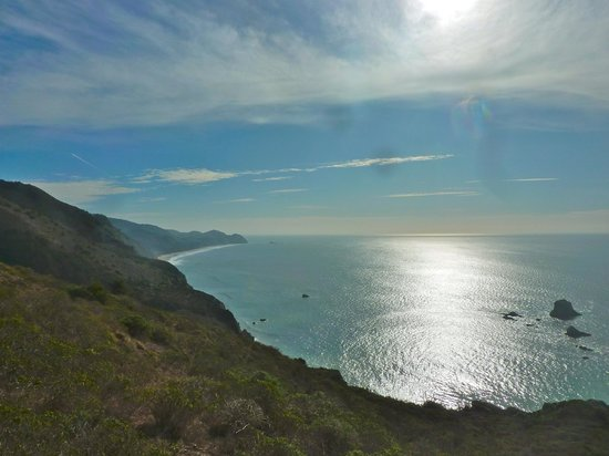 Point Reyes Hiking Trails: View from near Wildcat Beach