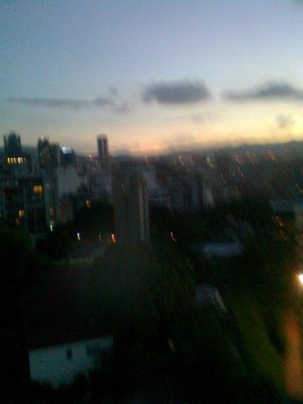 Hotel Avila: Caracas skyline from Avila window