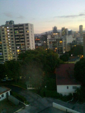 Hotel Avila: View from Avila hotel