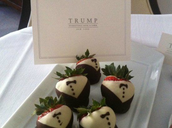 Trump International Hotel and Tower New York: Birthday surprise