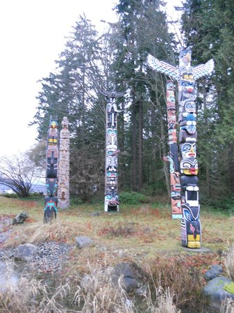 Brockton Point Totem Pole: Totem Pole