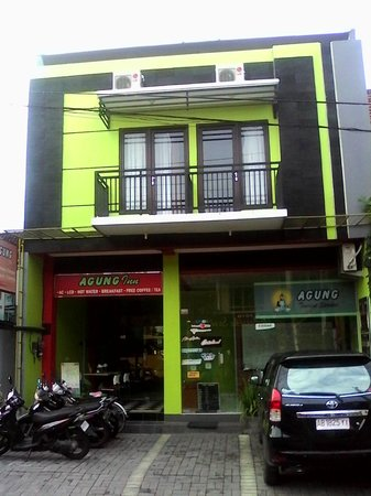 Agung Inn Hotel, Yogyakarta from the front