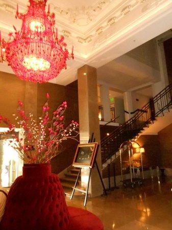 Savoy Hotel: Saguão da recepção