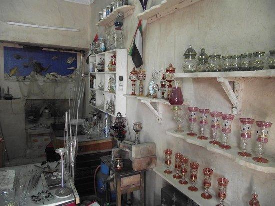 Heritage Village: Изделия из стекла