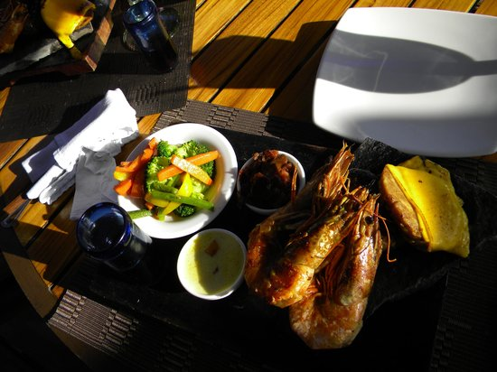 Red Mangrove : Delicioso menu