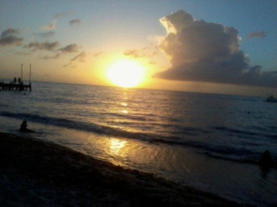 Occidental Cozumel: Sunset