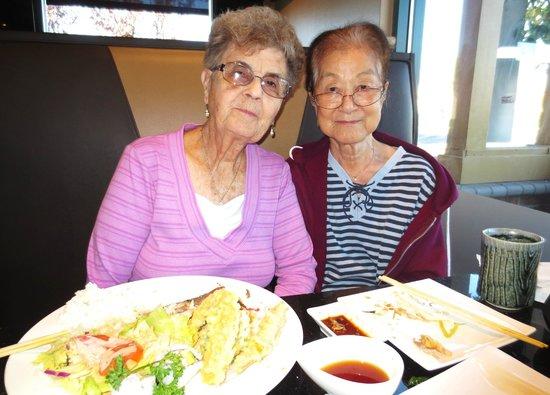 Kobe Steak and Sushi: Satiated Old Ladies Post-meal