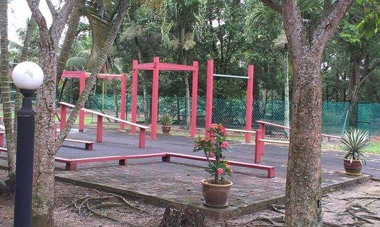 Hotel Seri Malaysia Rompin: open gym