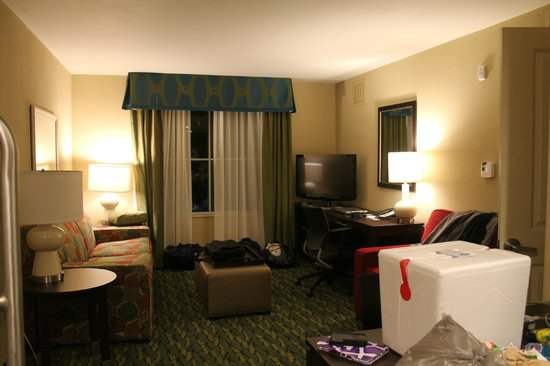 Homewood Suites by Hilton Orlando Airport: Lounge area