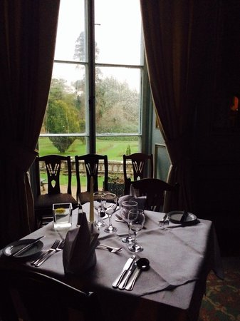 Markree Castle Hotel: Dinner service!