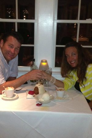 'Tween Waters Island Resort & Spa: A great fine dining Valentine's dinner at Tween Waters Inn