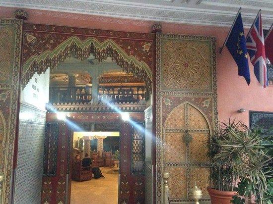 Moroccan House Hotel Casablanca: Entrada do hotel