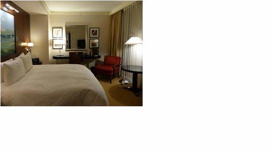 Sofitel Washington DC : Nice size room