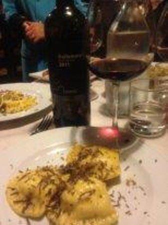 Lu Vottaro: ravioli with truffle