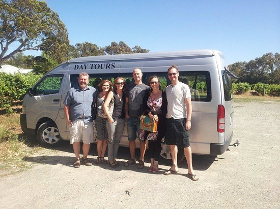 Bums On Seats Day Tours: our group at Graham Stevens cellar door