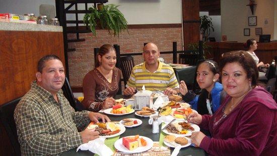 Hotel Balmoral: Desayunando en el Hotel