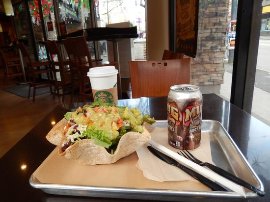 Mucho Burrito: Shrimp Salad with quacamole