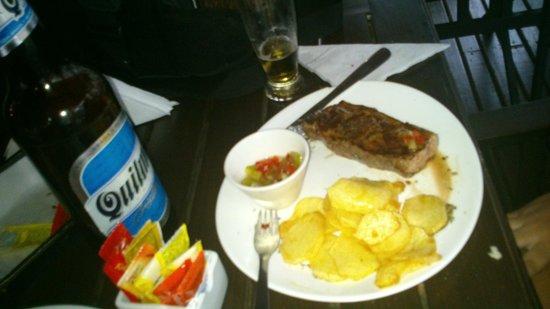 Puerto Bambu Resto Bar: Chorizo com Quilmes
