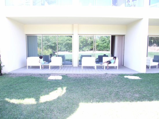 Onyria Marinha Edition Hotel & Thalasso: terrasse de la chambre