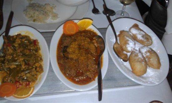 Puri Mas: Dishes
