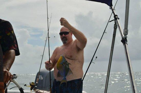 Caribbean Villas Hotel: Great fishing