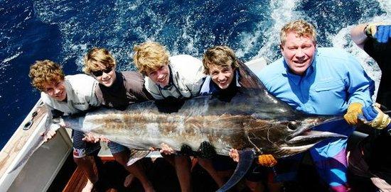 On Strike Charters: Black Marlin