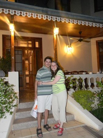 Villa Victoria Lodge : Entrada a la casona