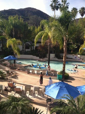Glen Ivy Hot Springs: the lounge pool