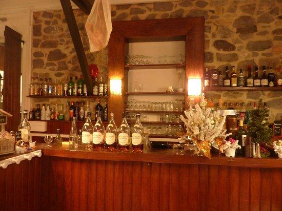 Restaurant Cidrerie Auberge du Chapelet : Vue du bar
