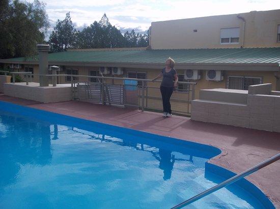 Hotel Algarrobo: hermosa piscina climatizada