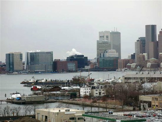 Hilton Boston Logan Airport: Harbor View