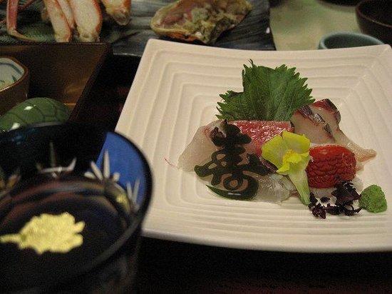Kasenkyo Izutsuya: 夕食1