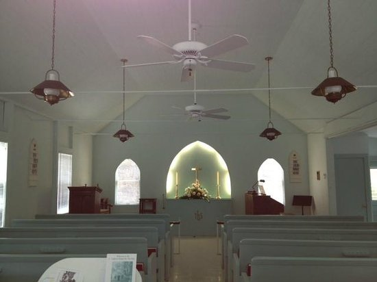 Captiva Chapel By-The-Sea: Inside the Chapel-By-The-Sea