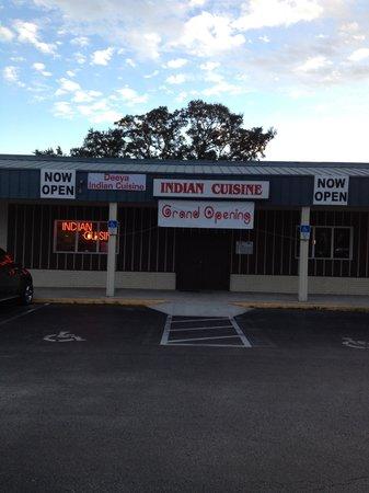 Deeya Indian Cuisine: Grand Opening Sign