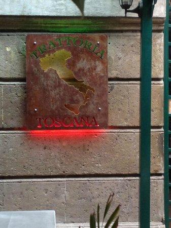Toscana Trattoria: Logo