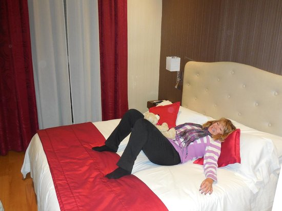 Hotel Nazionale: A comfortable Standard Double bed