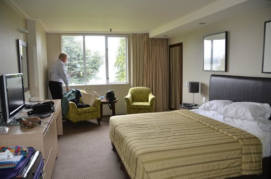 Distinction Te Anau Hotel and Villas: Rooms similar to Super 8 or Comfort Inn in quality