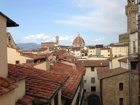 Hotel Degli Orafi: view from roof top