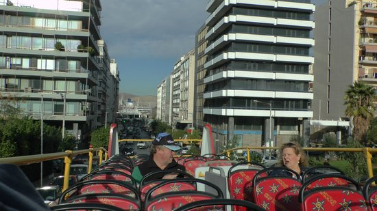 City Sightseeing Athens & Piraeus: View from the open top bus
