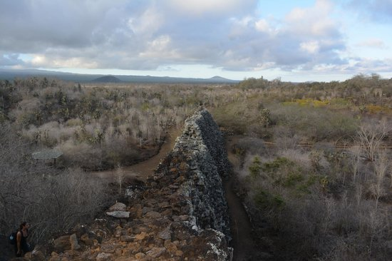 The Wall of Tears: View from the foothill side of the Wall