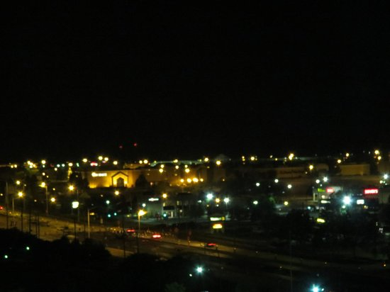 """Pheasant Run Resort and Convention Center: Night view  of the """"resort"""" from my room."""