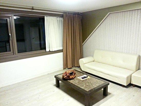 Hotel Foret: living room
