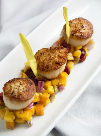 Peppercorn: Scallop Dish