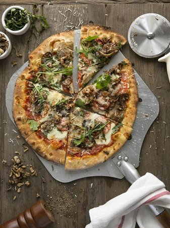 Peppercorn: Wood Stone Oven Pizza