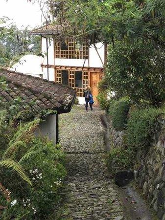 Casa Mojanda: Walk to the main lodge