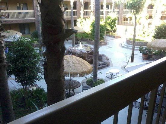 BEST WESTERN Plus Meridian Inn & Suites, Anaheim-Orange: view from room 229